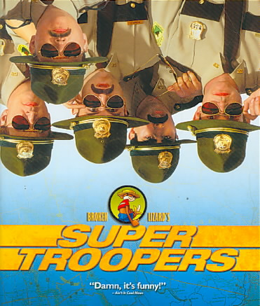 SUPER TROOPERS BY VIPPOLIS,ANDRE (Blu-Ray)